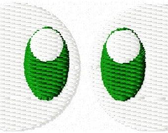 Eyes Mini Embroidery Design