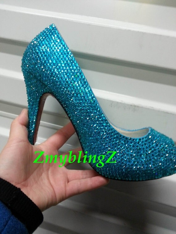 Teal Wedding Shoes 033 - Teal Wedding Shoes