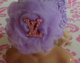 Designer Inspired Lavender Beenie.