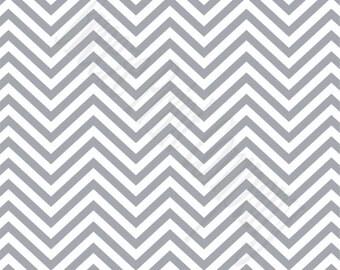 Gray chevron craft  vinyl sheet - HTV or Adhesive Vinyl -  grey and white zig zag pattern   HTV64