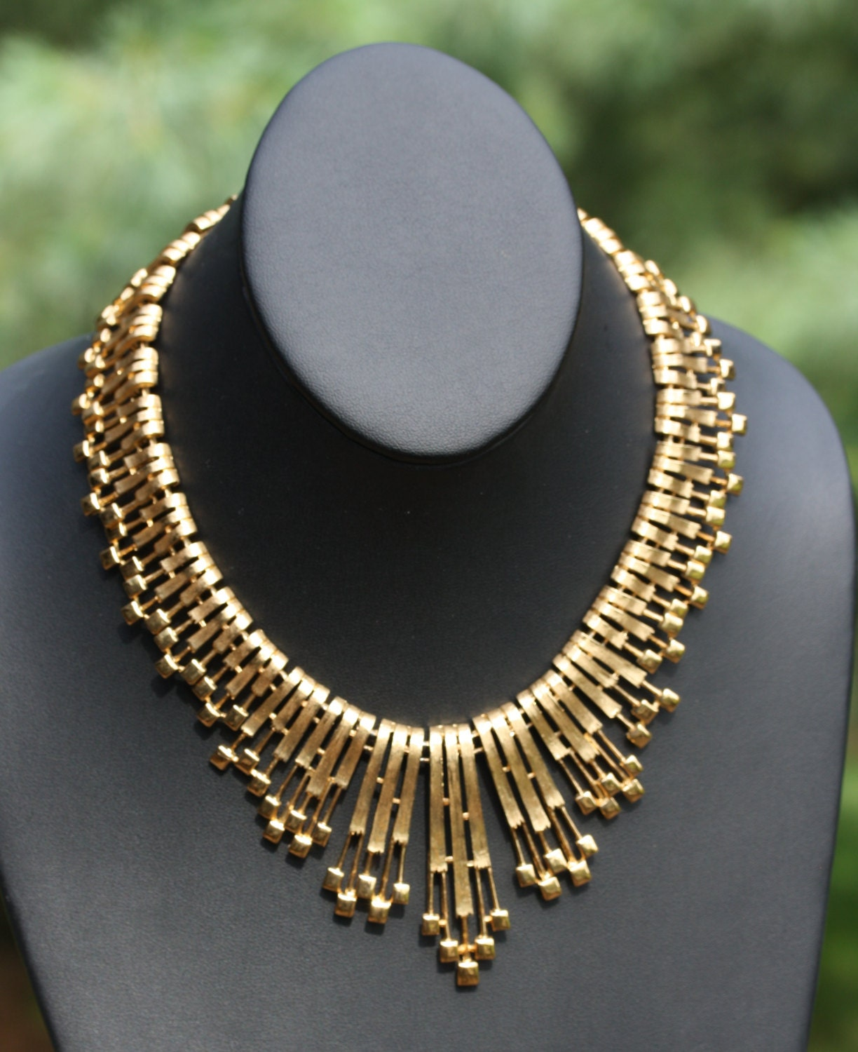 Vintage Monet Cleopatra Style Necklace
