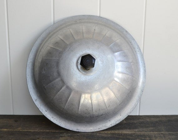 1930s Aluminum Replacement Lid For Household By Figsandsteel