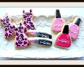 Custom Decorated Girls Night Out Sugar Cookies