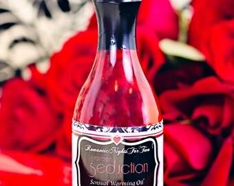 Strawberry Seduction Edible Sensual Massage Oil