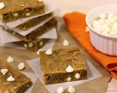 Pumpkin Bars: Browned Butter Pumpkin Blondies