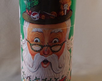 TWISTABOUT  Christmas Box Canister -