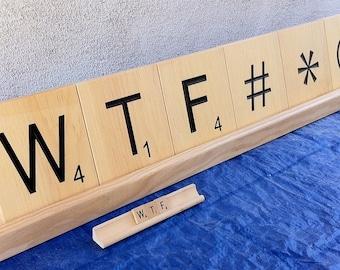 Popular Items For Giant Scrabble Tiles On Etsy