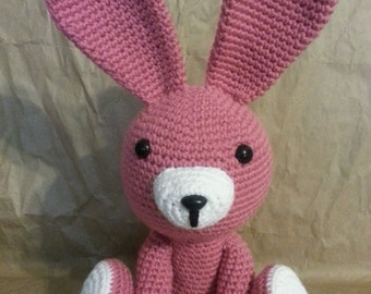 Two Color Bushy Tail Bunny