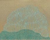 Imaginary coral Print