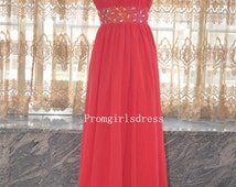 Red Prom Dress, Long Prom Dress, Red Prom Gowns, Prom Dresses, Long Prom Dresses,  Red Prom Dresses