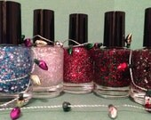 All 5 Winter Collection Polishes (mini bottles)