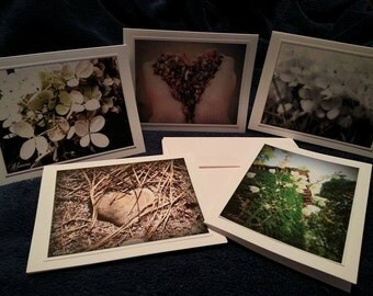 Hand Crafted Note Cards From Original Photography