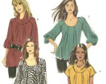 B5388 Fast and Easy Sewing Pattern Misses Top Size 16-22 Butterick