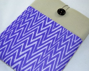 Chevron Nexus 7 HD Cover, Kindle Case, eReader Case with Pocket for Paperwhite, Nook, Galaxy Tab 3, Custom Size Available. Herringbone  case