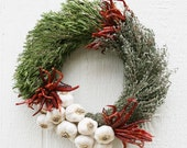 Culinary Garlic and Herbs Wreath