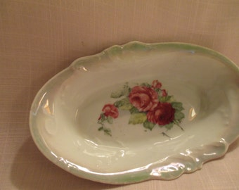 Small Vintage China Pickle Dish
