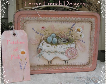 Patches of Pink by Terrye French, E-Pattern