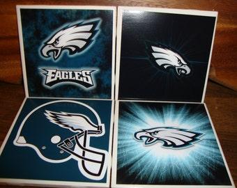 Philadelphia Eagles Coasters (set of 4)