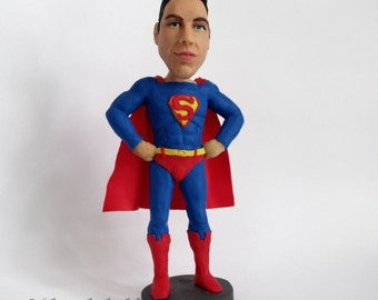 Custom Superhero figurine or Bobblehead - Yes, it's him! - 100% Money-Back Guarantee