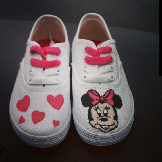 disney inspired minnie mouse shoes