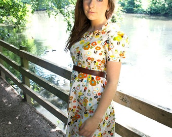 Pretty hand made 70s dress