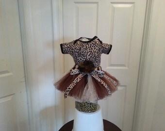 Leopard onesie