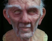 Hank Deluxe Silicone Old Man Mask! - great disguise and made to order