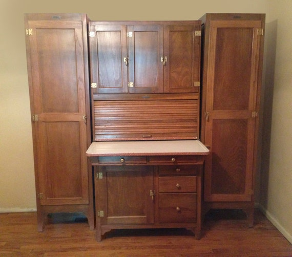 Antique Hoosier Kitchen Cabinet: Unavailable Listing On Etsy