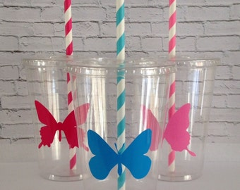 12 oz. Butterfly Party Cups Set of 12