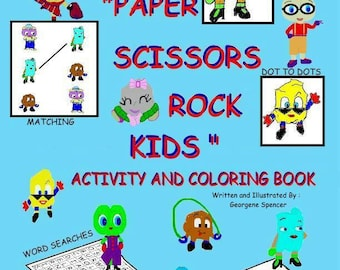The P.S.R. Kids Activity and Coloring Book