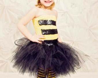 bumble bee tutu dress