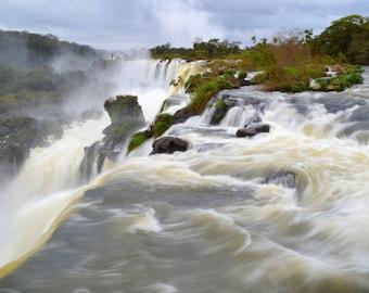 Swirling Falls Iguassu Argentina Rivendell Photograph
