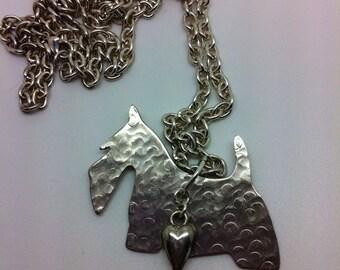 Scottish Terrier Dog Necklace