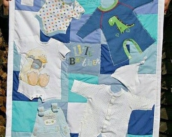 Custom Baby Keepsake Quilt