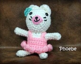 Phoebe Kitty -  Small Stuffed Toy