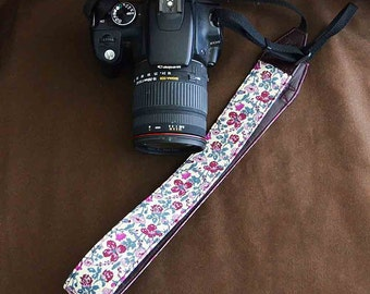 DSLR Camera Strap : LIBERTY Meadow (Wine)