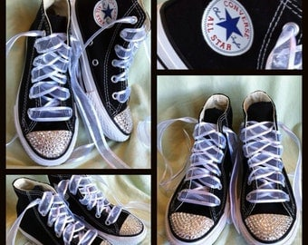 High Top ADULT Bling Converse