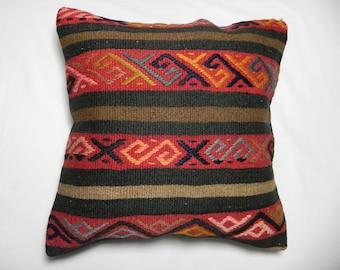 "kilim, pillows, kilim pillow, coverscushion, cover, accent pillow, decorative, pillowsthrow, pillows kilim, pillow cover 16""x16"",Decorative"