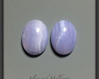 Blue Lace Agate Natural Cabochon 1 piece