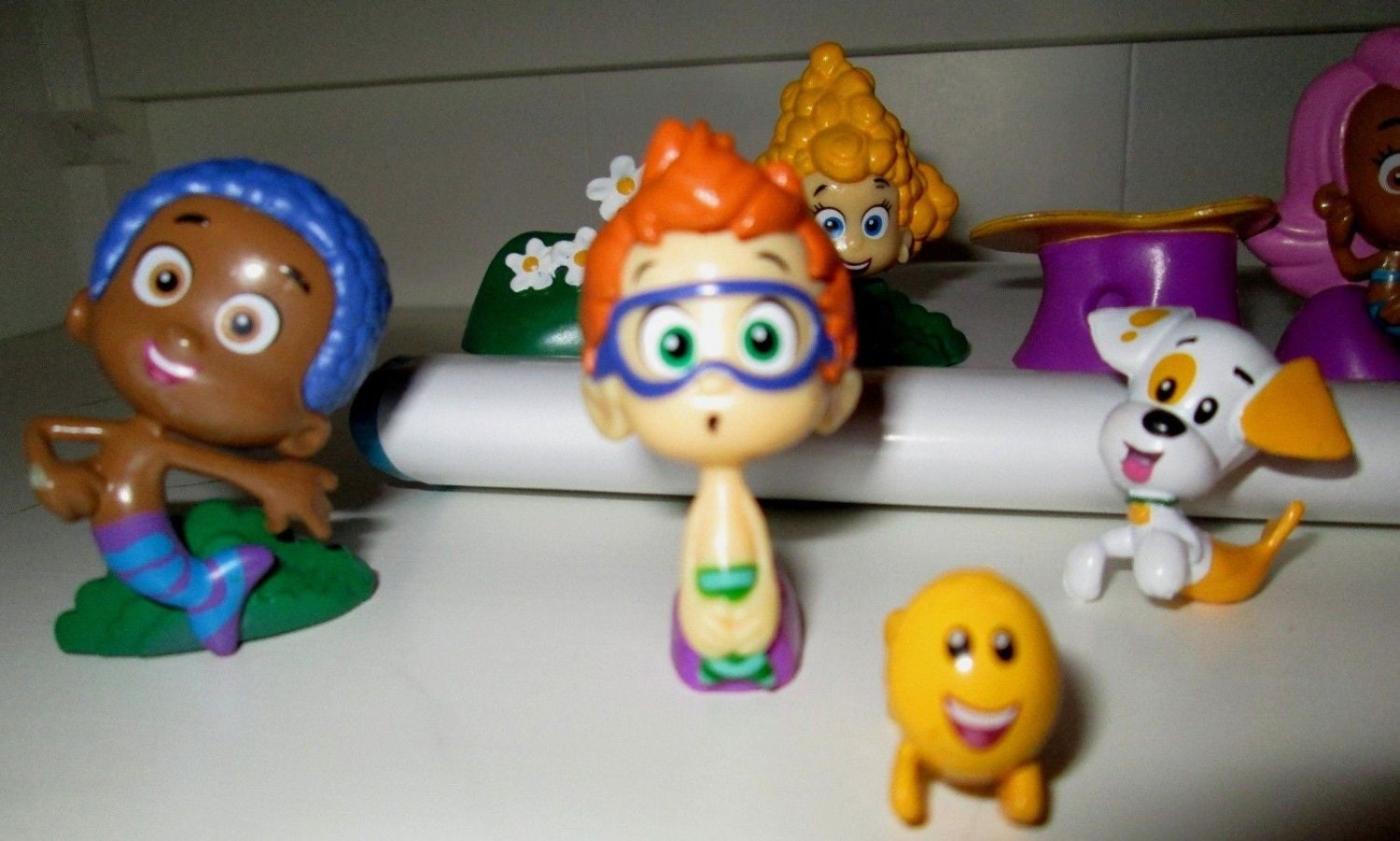Cake Decoration Figures : New Bubble Guppies Cake Toppers PVC Figures Lot Birthday Party