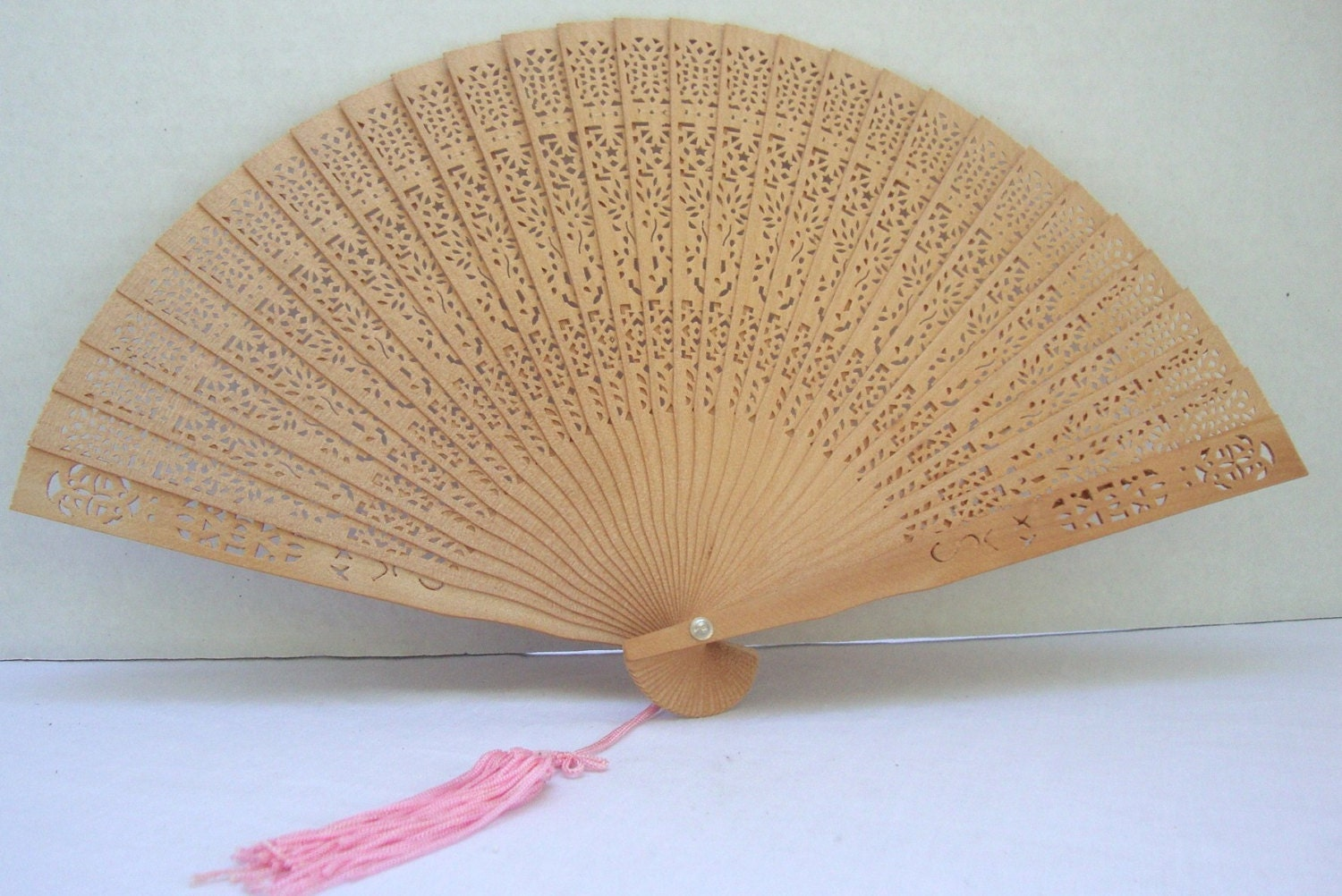 Hand Held Fans : Fan hand held asian folding wooden