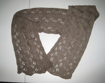 Bamboo lace scarf