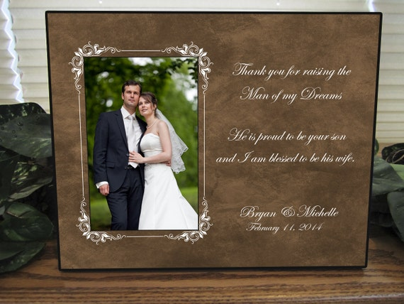 Wedding Gift, Parents of the Groom, Father In Law Gift, Mother In Law ...