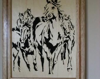 Horses on the Range