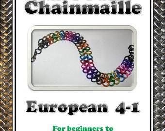 European 4-1 Chainmaille Tutorial