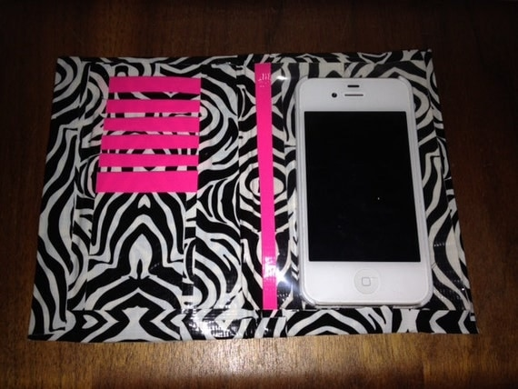 Items Similar To Handmade Duct Tape Iphone Wallet Case