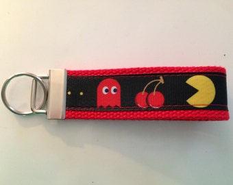CLEARANCE -Key Chain - Pac-Man Inspired