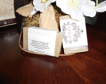 Luxurious Cocoa Butter Goat's Milk Soap
