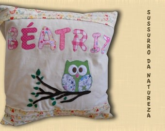 "Name-Pillow case ""Sussurro da naturaza"""