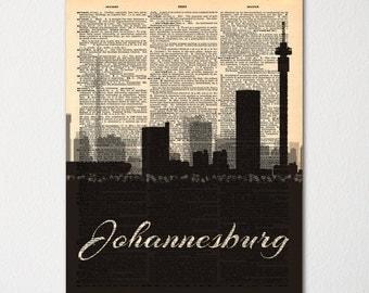 Johannesburg Decor Etsy